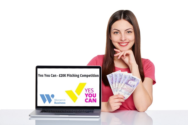 Yes You Can – £20K Pitching Competition