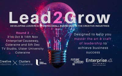 Lead2Grow for Creatives Round 2