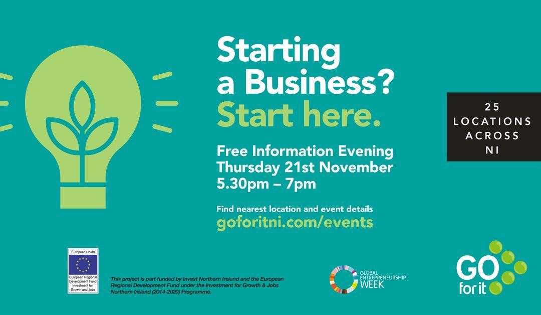 Start a Business Information Evening