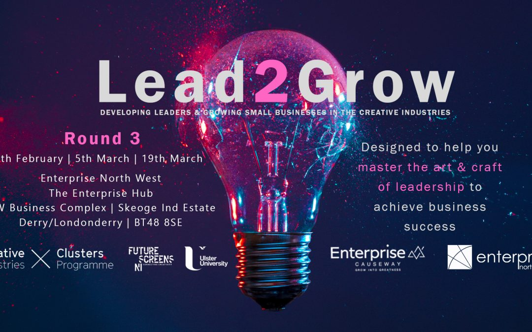 Learn the art and craft of leadership in the creative sector – Apply Now for Lead2Grow for Creatives (Round 3)